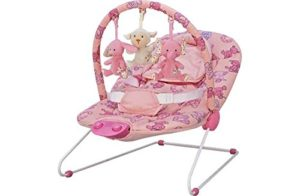 Baby Chad Valley Deluxe Pink Bouncer