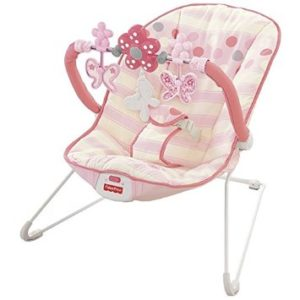 Fisher-Price Comfy Time Pink Bouncer