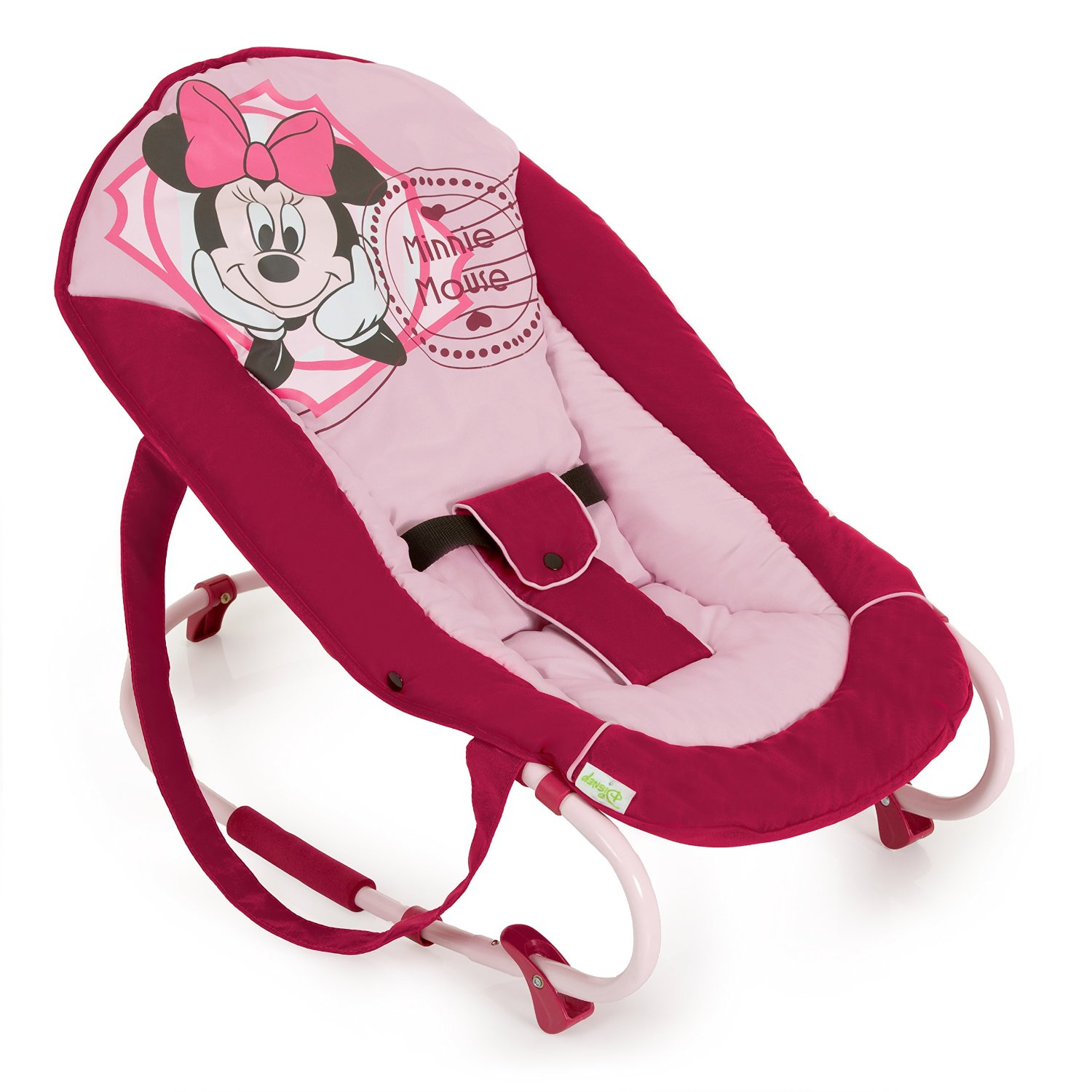 best pink baby bouncer  bouncing babies - hauck disney rocky bouncer (minnie mouse)