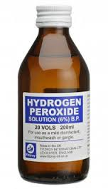 hydrogen peroxide deep clean a baby bouncer