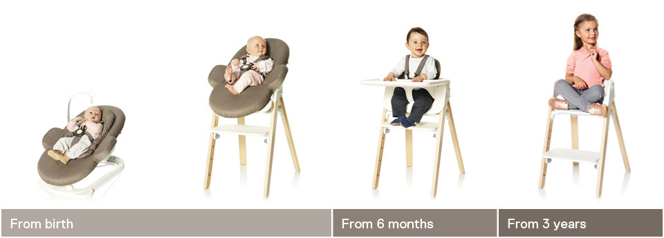 stokke steps bouncer bouncing babies. Black Bedroom Furniture Sets. Home Design Ideas
